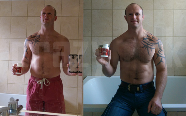 Before and After CrazyBulk