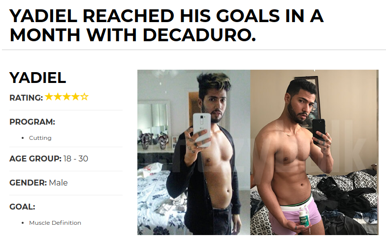 Yadiel Muscle Building Goals With Crazy Bulk