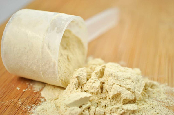 Scoop of Whey Protein