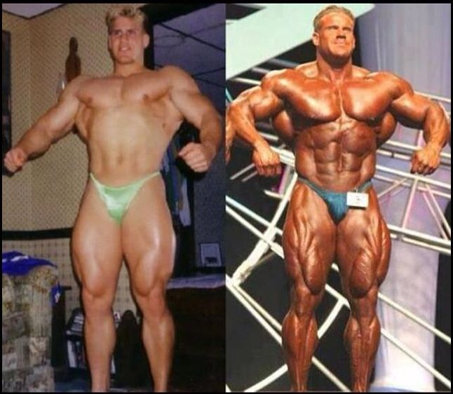 Jay Cutler young and old