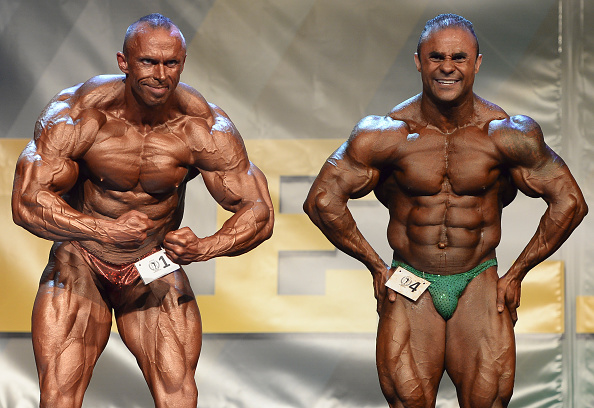 Allistair Smyth wins NABBA Pro Division competition