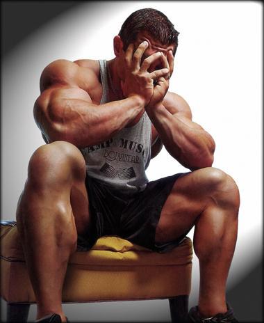 Depressed Bodybuilder