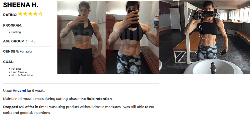 Sheenah Got Ripped and Shredded in 6 Weeks With Crazy Bulk