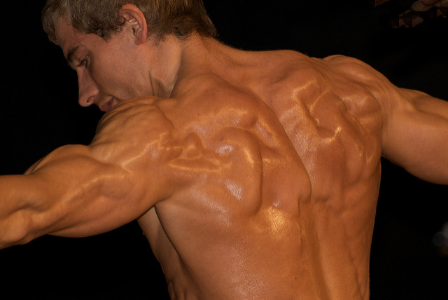 Guy With Massive Back