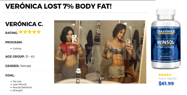 Before and After Picture Winstrol Pills