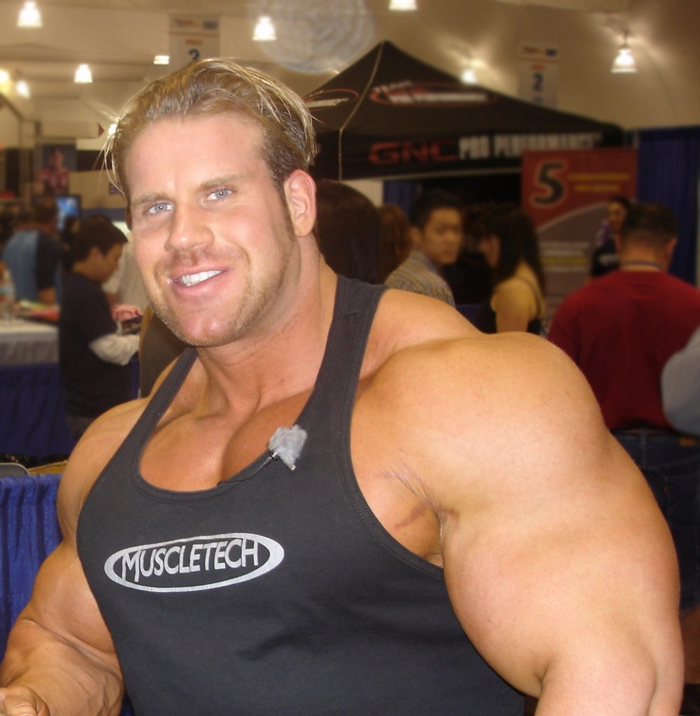 Jay Cutler 4 time Mr. Olympia Winner