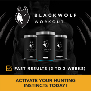 Blackwolf preworkout banner