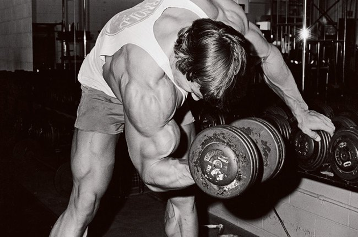 Arnold Dumbbell Biceps Curl