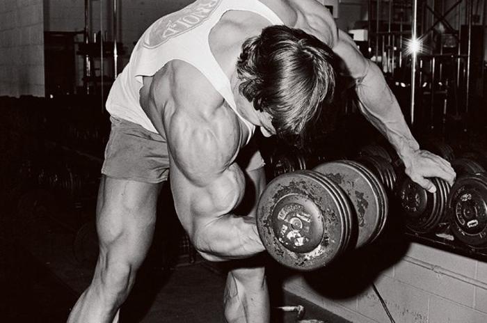 Arnold Dumbbell Biceps Curl