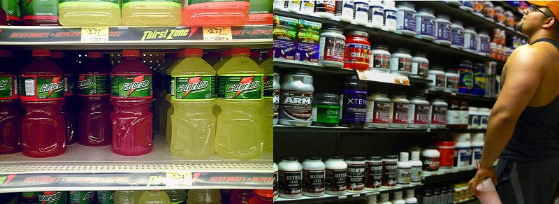 Sports Drinks Versus Pre-Workout Supplements