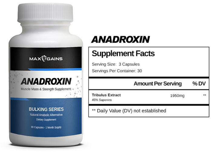 Max Gains Anadroxin (Legal Anadrol)