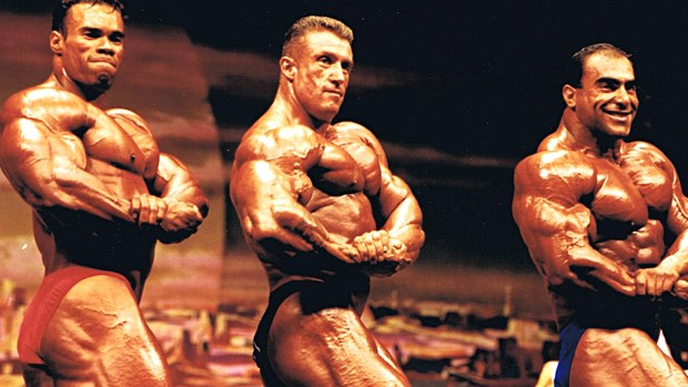 Famous Bodybuilders Posing