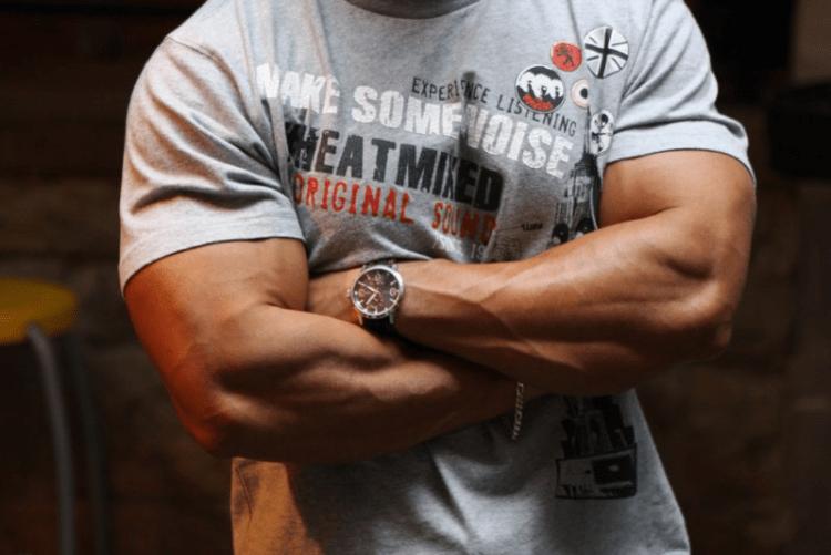 Muscular Man in Tshirt