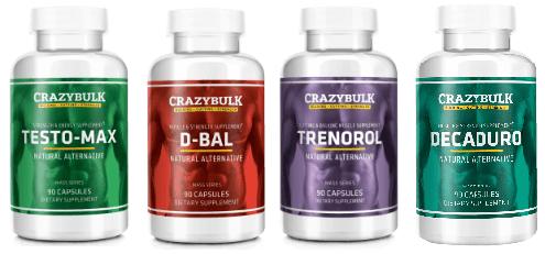 CrazyBulk Legal Steroid Stacks