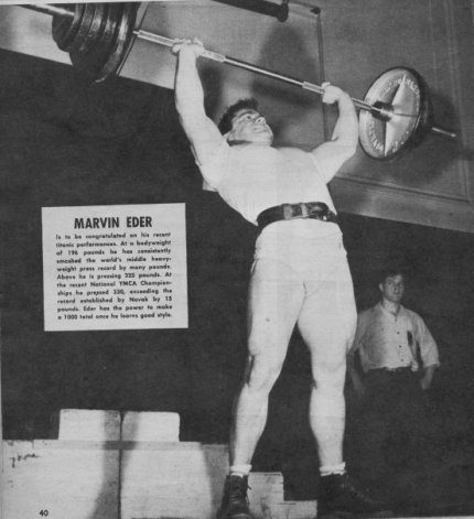 Marvin Eder Clean and Press