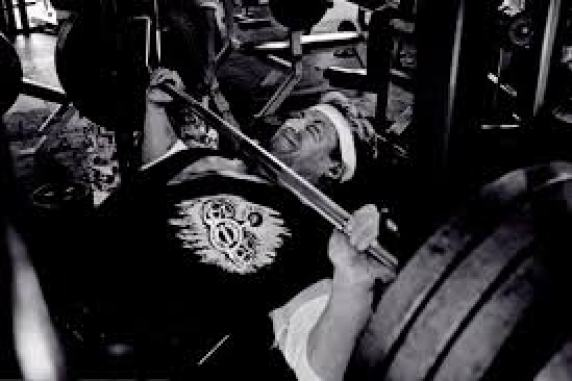 Dorian Yates Bench Press