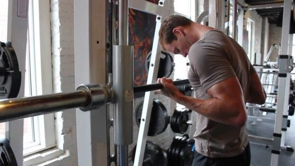 Smith Machine Drag Curl