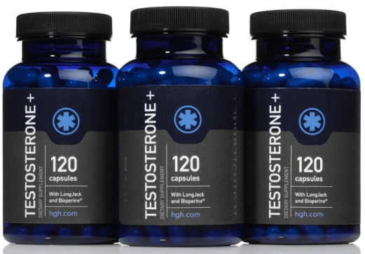 HGH Testosterone Booster for Men