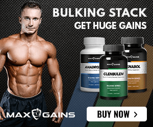 Max Gains Bulking Stack Banner