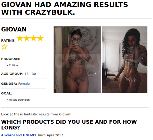 Giovan Lost Body Fat