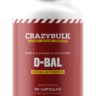 Crazy Bulk D-Bal (Dianabol)