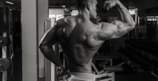 YOung Shredded Bodybuilder